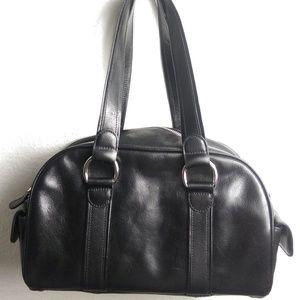 Authentic Muholland Handbag Luxury Leather Black